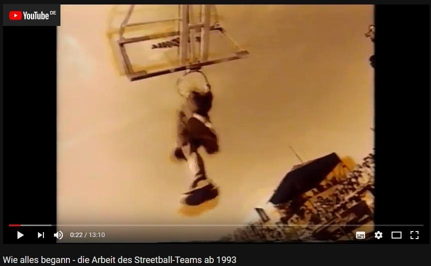 Wie alles begann - Die Arbeit des Streetball-Teams ab 1993